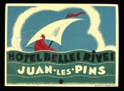 Advert for Hotel Belles Rives, France