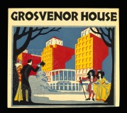 Advert for Grosvenor House Hotel