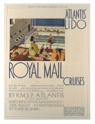Advert for Royal Mail Cruises