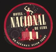 Advert for the Hotel Nacional de Cuba