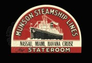 Label for Munson Steamship Lines