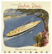 Advert for 'The Lovely New Andrea Doria'