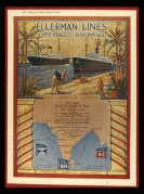 Advert for Ellerman's City, Hall & Bucknall Lines