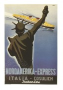 Poster for the Nordamerika – Express