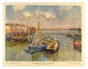 Fisher Boats at Ostend