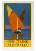 Book cover for Orient Line to Australia
