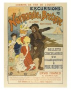 Advert for Excursions to Normandy and Brittany