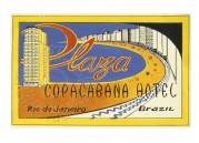 Advert for Copacabana Hotel in Brazil