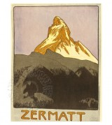 Poster for Zermatt, Switzerland