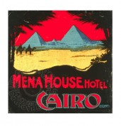 Poster for Mena House Hotel in Cairo