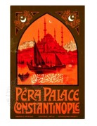 Poster for Pera Palace, Constantinople