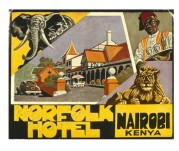 Poster for Norfolk Hotel, Nairobi