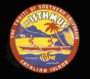 Luggage Label for The Isthmus