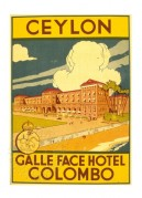 Poster for Hotel Colombo, Ceylon