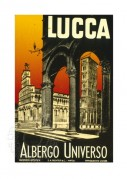 Poster for Hotel Universo, Lucca