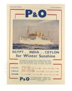 Advert for P & O Cruises