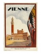 Brochure cover for Sienne, Italy