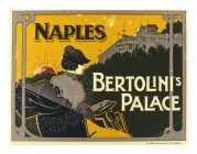 Label for Bertolinis Palace, Naples