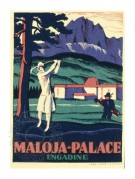 Label for Maloja Palace Hotel, Engadine