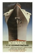 Poster for Normandie Shipping Line