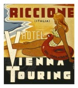 Label for Hotel Vienna & Touring Riccione