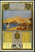P&O Mail Freight and Passenger Services Poster
