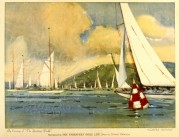 Illustration of Cowes Roads, Isle of Wight