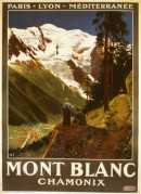 Poster for Mont Blanc