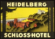 Poster for Schloss Hotel, Heidelberg