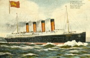 Illustration of the R.M.S. Lusitania