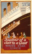Souvenir Poster for the White Star Line