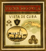 Poster with Views of Cuba