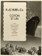 Shipping Advert for Cotton and Linen from Egypt