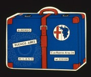 Buenos Aires Luggage Label