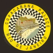 Copacabana Palace Luggage Label