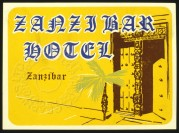 Zanzibar Hotel Luggage Label