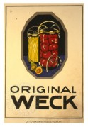 German advert for 'Original Weck' jam