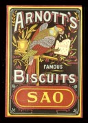 "Advert for Arnott""s famous biscuits"
