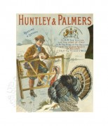 Advert for Huntley & Palmers biscuits