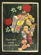 Advert for Cadbury's Roses Chocolates