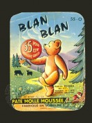 French Blan Blan Pate Packaging Label