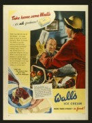 Advert for Wall's Ice Cream