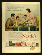 Advert for Nestles Condensed Milk