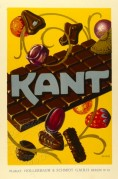 German Advert for Kant Sweets and Chocolate