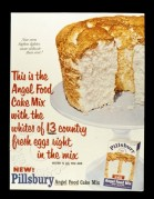 Advert for Angel Food Mix