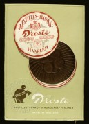 Advert for Droste Chocolate Sweets