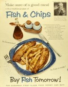 Advert for Fish & Chips