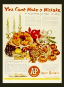 Advert for A&P Super Markets