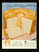 Advert for Betty Crocker Angel Food Cake