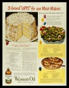 Advert for Wesson Salad Oil